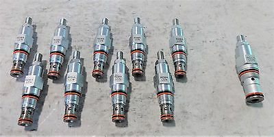 Lot Of (10) Sun Hydraulics Relief Valve Rdba-Lcn & Needle Valve Nccc-Lcn