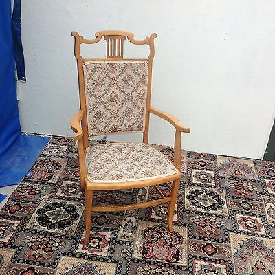 Edwardian, Hall or Bedroom Arm Chair