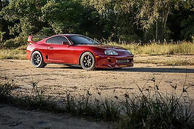 1994 Toyota Supra Twin Turbo Hatchback 2-Door E85-Flex Fuel, Precision 79mm, 6-Speed, Mint Condition!