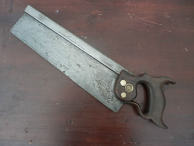 """Ross & Alexander Liverpool 14"""" 12 Ppi  Hand Dovetail Back Tenon Saw"""