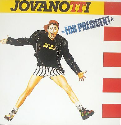 JOVANOTTI - FOR PRESIDENT -  MX-LP-214- 33 rpm - 1988 SPAIN