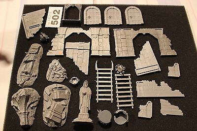 Games Workshop Lord of the Rings LoTR Scenery Job Lot Osgiliath Ruins Moria Lot