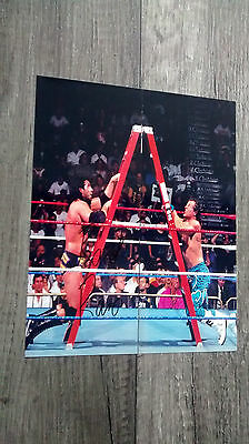 Razor Ramon Scott Hall autographed 8 x 10 photo WWF WCW WWE Summerslam HBK