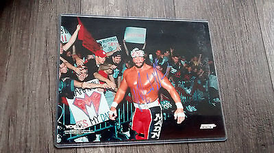 Macho Man Randy Savage autographed 8 x 10 photo WWF WCW WWE OH YEAH