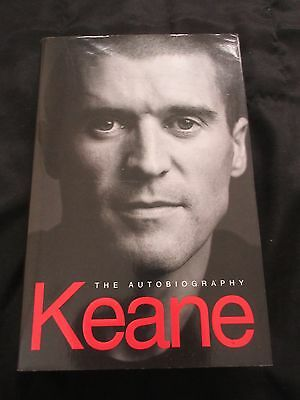 Signed Roy Keane Manchester United  'keane The Autobiography' Hb 2002