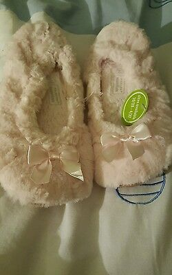 Primark girl slipper  3-4 pink