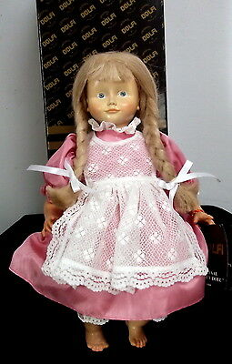 Vintage Dolfi Wooden Doll with Box Made in Italy