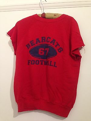 Cool Cut Up American Football Jumper, Vintage, Beyond Retro, Size 8 10, Hipster
