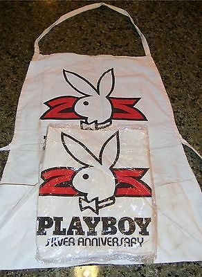 Original Vintage Playboy Apron From The 1970's