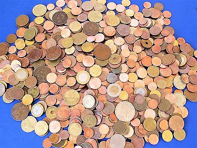 5 Pounds Unsorted World Coins ~ Old Vintage And Brilliant New ~ Free Shipping