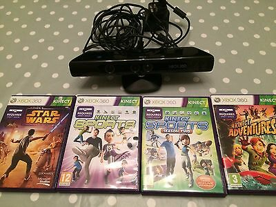Xbox Kinect And 4games