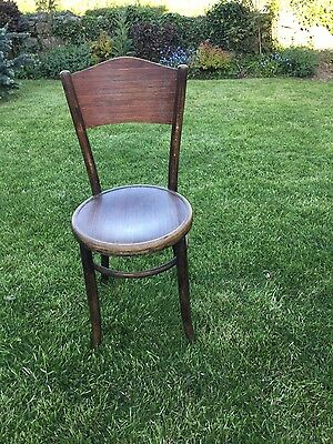 Vintage/Antique BENTWOOD CHAIR BY THE RENOUND FISCHEL COMPANY of Czechoslovakia