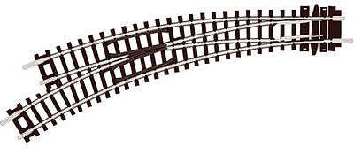 Peco N Gauge Curved Turnout L/H  Code 80 ST-45 Made in UK
