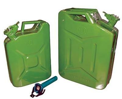 20L Fuel Jerry Can Nozzle Included, Petrol Can