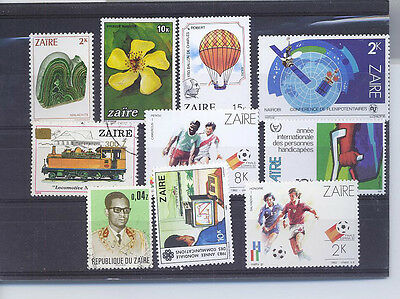 Zaire  Small Collection Of Stamps P4 G
