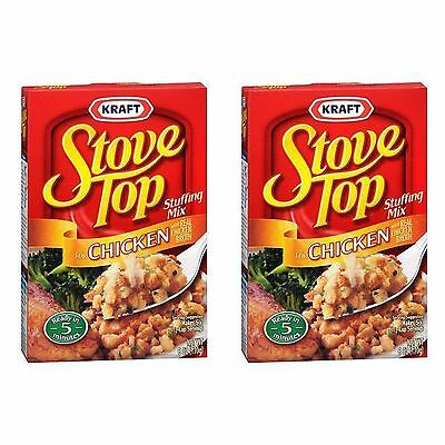 Kraft Stove Top Chicken Stuffing - 6 oz (170g) - 2 Boxes