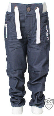 Branded Enzo Infants Boys Jogger Jeans Navy 347 Ages 2-10 Years