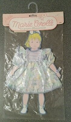 NEW! Marie Corolle Doll Clothes/ Bleuet Dress Outfit