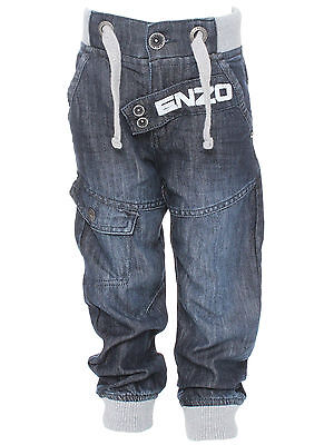 Branded Enzo Infants Boys Jogger Jeans Dsw Ages 2-10 Years
