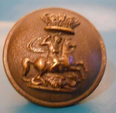 Officers Uniform Button . 1St Middlesex Rifle Volunteers.qvc.