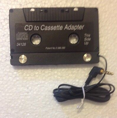 Phillips Cd To Cassette Adapter Model No.34126