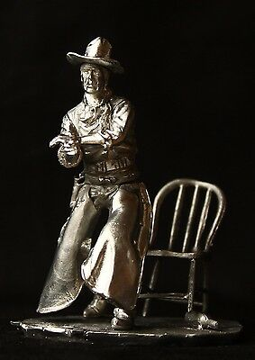 Old West: Tom Doniphon Kit Tin toy soldier 54 mm.,metal sculpture.