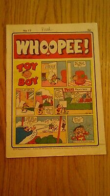Whoopee Comic Issue No.17. From 29-6-1974.