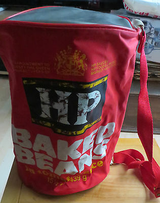 Large HP Baked Bean Tin Can Shaped Bag - Very Unusual
