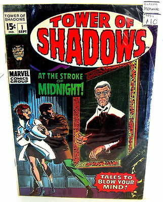 *Tower of Shadows (Marvel) LOT #1-3, 6, Special #1 Adams/Steranko/Wood (5 Books)