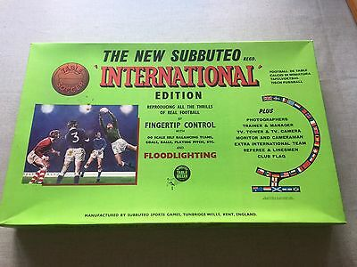 Subbuteo Table Soccer International Edition with Floodlighting