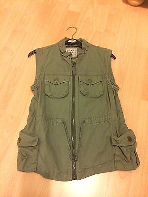 Girls Next Khaki Combat Gilet.