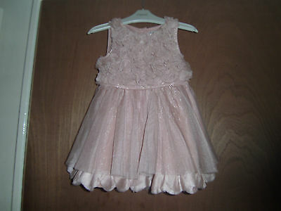 Stunning next girls age 9-12 months party/occasion dress.