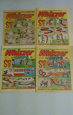 WHIZZER AND CHIPS COMICS FROM 1976 x 4.