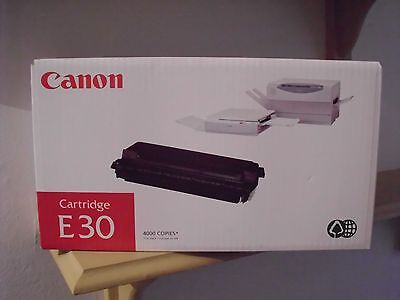 Genuine Canon E30 Black Laser Cartridge 1491A003 Yield 4000 Pages Made in France