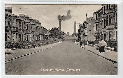 THOMSON AVENUE, JOHNSTONE: Renfrewshire postcard (C22900)
