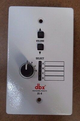 dbx ZC-8 Wall Mounted Zone Controller BRAND-NEW-free-shipping