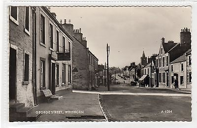GEORGE STREET, WHITHORN: Wigtownshire postcard (C22238)
