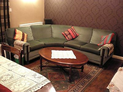 Corner Settee with Armchair