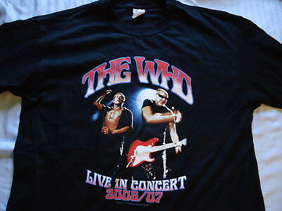 The Who ... 2006/07 Concert tour.... LG   T SHIRT