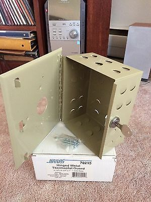 Hinged Metal Thermostat Guard