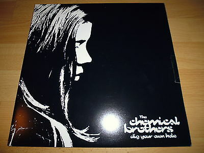 "2x12"" THE CHEMICAL BROTHERS - DIG YOUR OWN HOLE - UK 1st PRESS!!! XDUST LP 2"