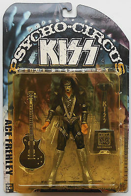 Ace Frehley - Kiss Psycho Circus ACTION FIGURE 1998 McFarlane NEW in Bubble Pack
