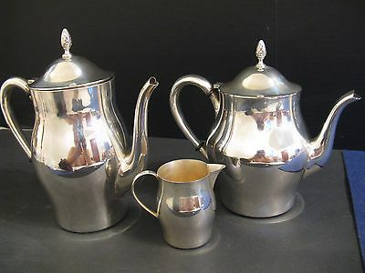 "3 PIECE INTERNATIONAL STERLING SILVER TEA SET in ""PAUL REVERE REPRODUCTION"""