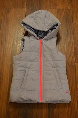 girls body warmer/gilet 7/8 immaculate