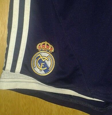 Real Madrid Football Shorts Size 34/36 - Adult Small