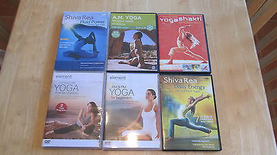 YOGA - Collection of 6 various DVD's