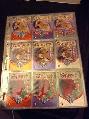 Ty Trading Cards Large Part Set Series 4