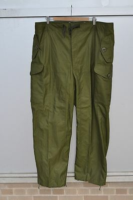 CANADIAN MILITARY WINDPROOF COMBAT PANTS SIZE 7340 New
