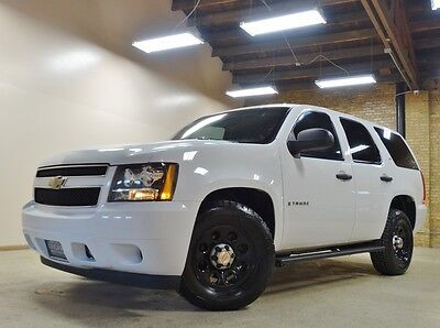 2009 Chevrolet Tahoe LS Sport Utility 4-Door 2009 CHEVY TAHOE 4WD, WHITE, 96K MILES, WELL KEPT, FED GOVT, TEXAS, NICE