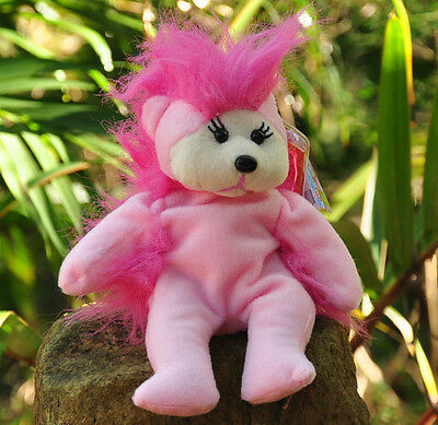 NEW Frizzle the Bear - Beanie Kid Collectable